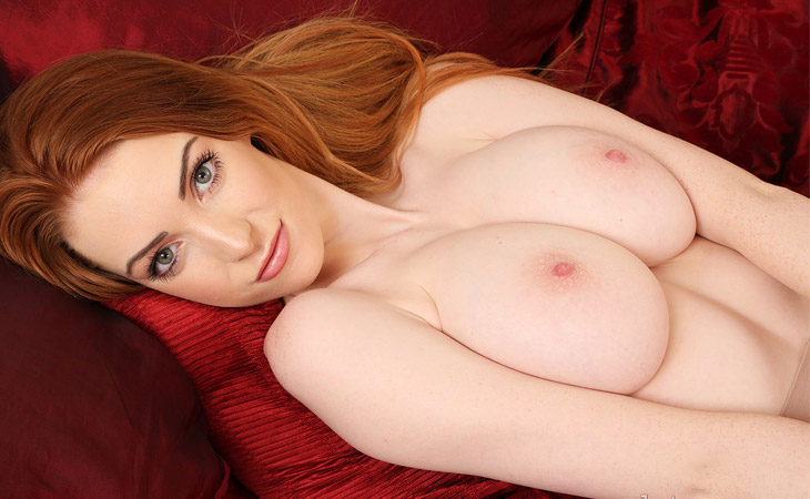 Alice Brookes Pale Busty Ginger