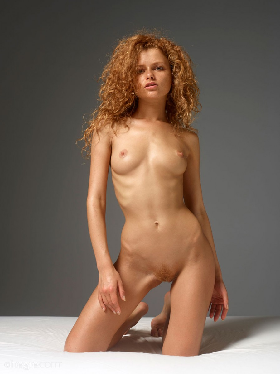 Naked Redhead With Curly Hair
