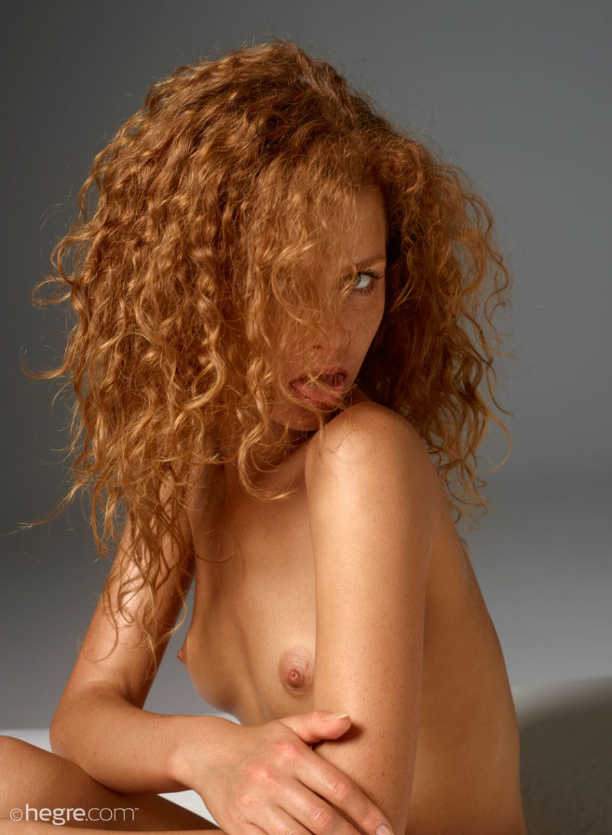 Opinion Curly hair redhead roommate nude